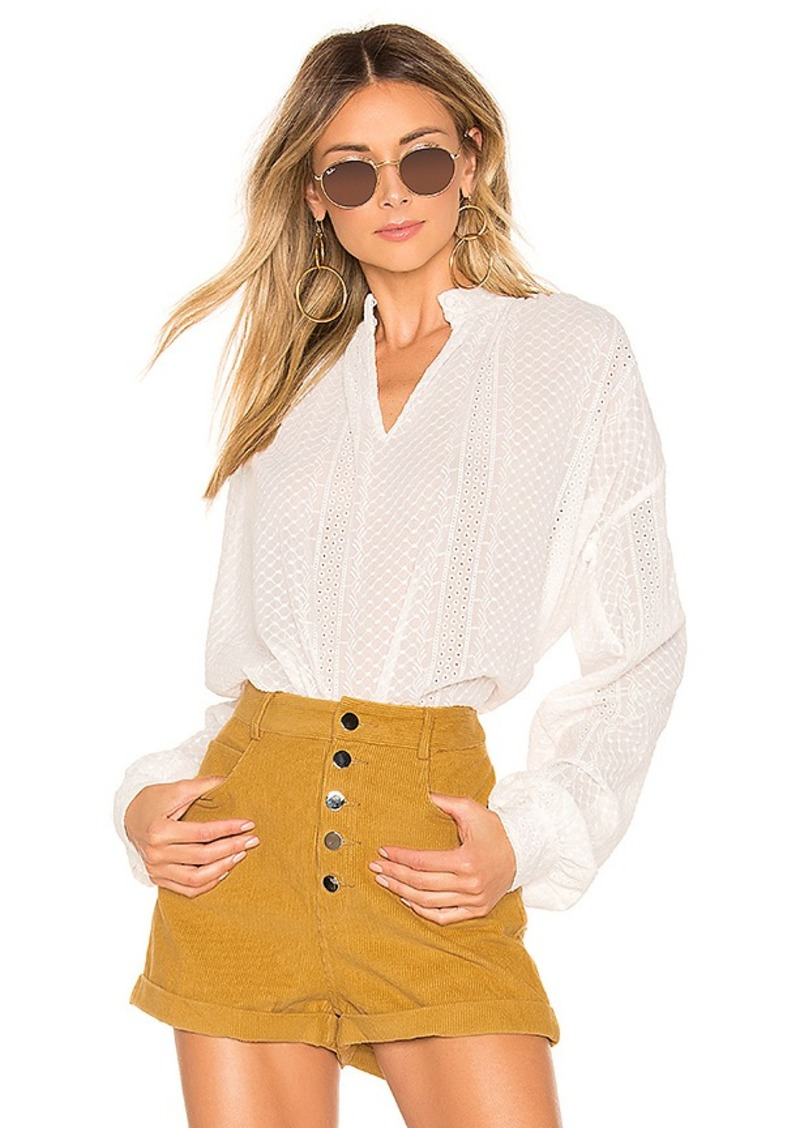 House of Harlow 1960 x REVOLVE Bonet Blouse