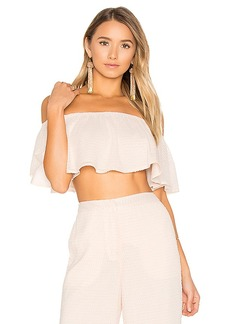 House of Harlow 1960 x REVOLVE Bree Crop Top in Pink. - size L (also in M,S,XL, XS)
