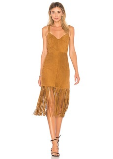 House of Harlow 1960 x REVOLVE Cara Dress in Cognac. - size S (also in XXS, XS,M,L,XL)