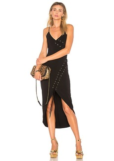 House of Harlow 1960 x REVOLVE Carrie Dress in Black. - size S (also in XXS, XS,M,L,XL)
