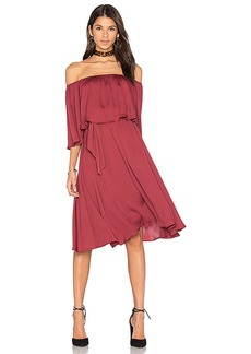 House of Harlow 1960 x REVOLVE Cindy Dress in Burgundy. - size M (also in S,XS)