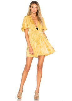 House of Harlow 1960 x REVOLVE Dawn Dress in Yellow. - size S (also in XS,L,XL)