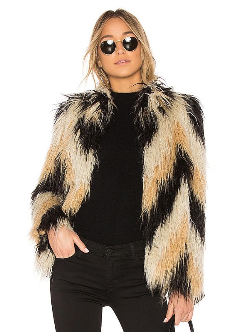 House of Harlow 1960 x REVOLVE Dee Faux Fur Coat