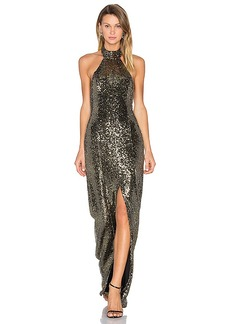 House of Harlow 1960 x REVOLVE Diana Maxi in Metallic Gold. - size L (also in S,XS,M,XL)