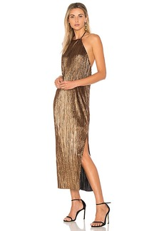 House of Harlow 1960 x REVOLVE Frederick Dress in Metallic Gold. - size XXS (also in XS,L)