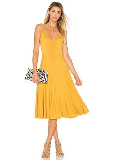 House of Harlow 1960 x REVOLVE Freya Dress in Mustard. - size L (also in S)