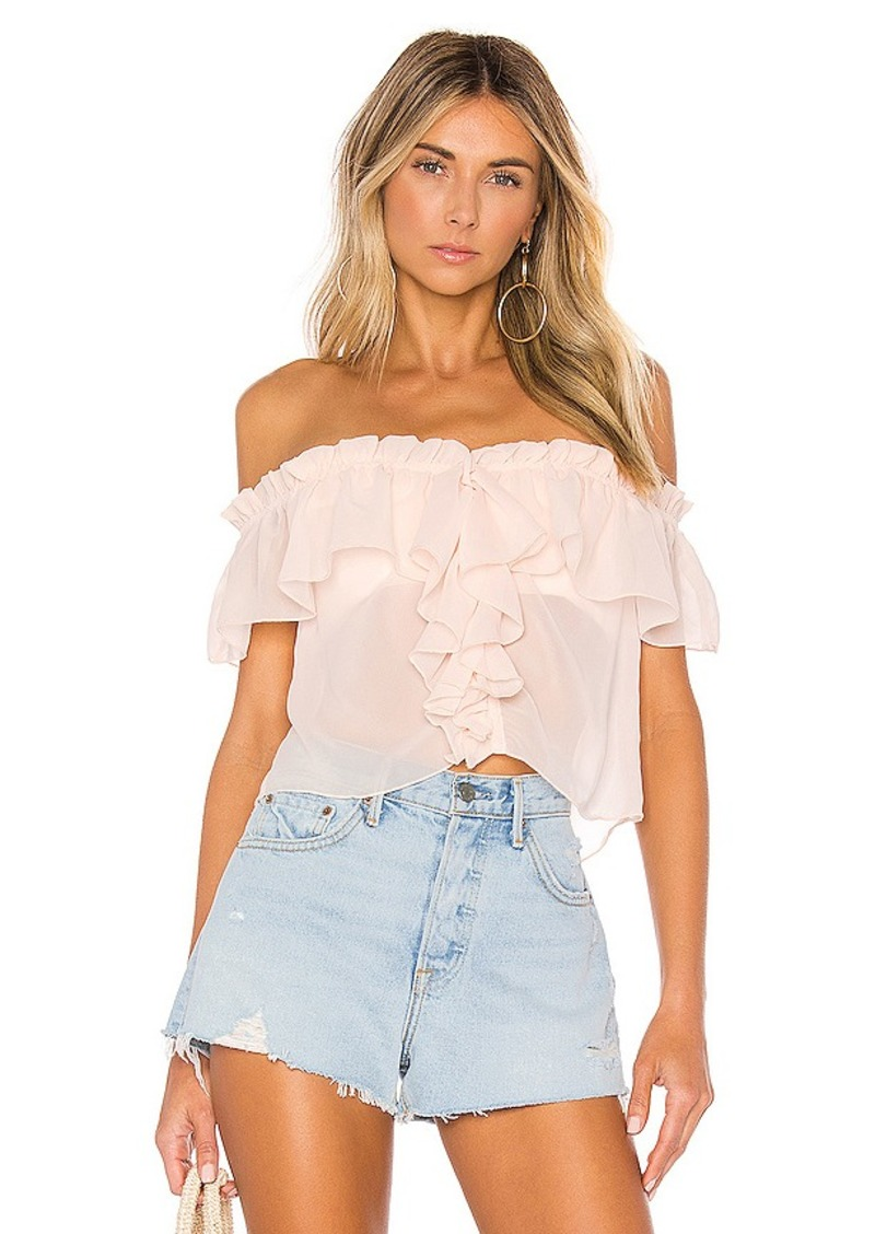 House of Harlow 1960 X REVOLVE Garrett Top