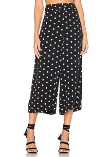 House of Harlow 1960 x REVOLVE Gwen Culotte in Black. - size L (also in M,S,XL, XS)
