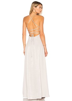 House of Harlow 1960 x REVOLVE Heidi Maxi in Gray. - size L (also in S,XS,M,XL)