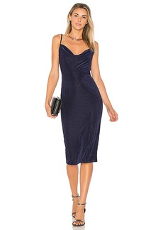 House of Harlow 1960 X REVOLVE Ira Dress in Navy. - size L (also in M,S,XS)