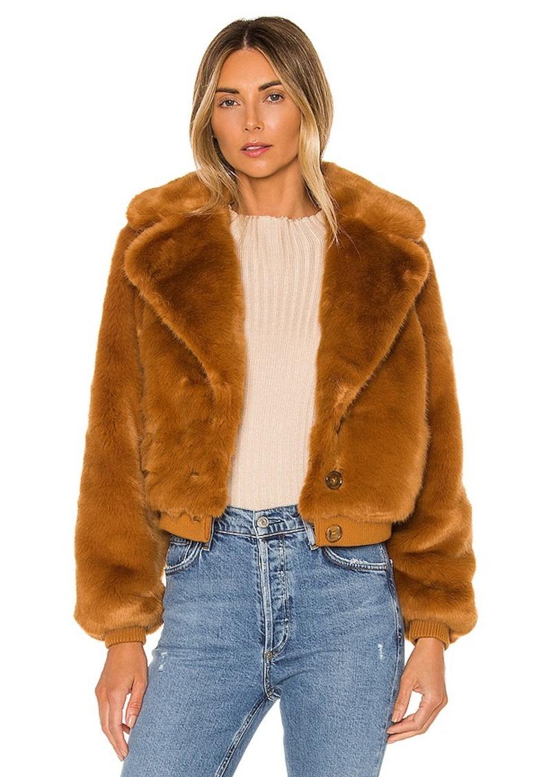 House of Harlow 1960 X REVOLVE Kalida Faux Fur Jacket