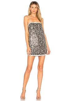 House of Harlow 1960 x REVOLVE Kristian Dress in Metallic Silver. - size XXS (also in L,M,S,XL, XS)