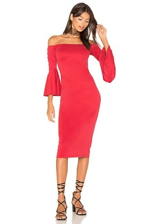 House of Harlow 1960 x REVOLVE Lena Midi in Red. - size M (also in XS,S)