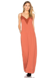 House of Harlow 1960 x REVOLVE Michelle Maxi in Rust. - size S (also in XS,M)
