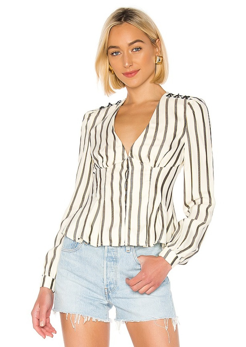 House of Harlow 1960 X REVOLVE Milan Blouse