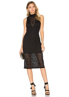 House of Harlow 1960 x REVOLVE Patti Midi in Black. - size S (also in XS,M)