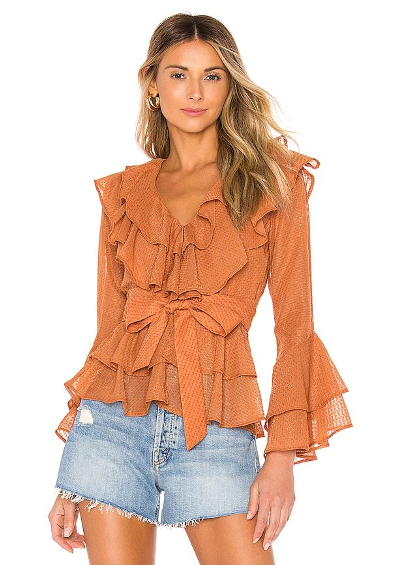 House of Harlow 1960 X REVOLVE Quintana Blouse