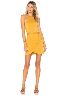 House of Harlow 1960 x REVOLVE Rya Dress in Mustard. - size M (also in XS,L)