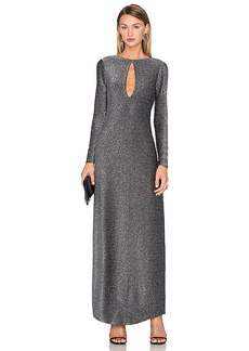 House of Harlow 1960 x REVOLVE Saha Slinky Maxi in Metallic Silver. - size S (also in L,XS)
