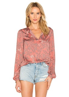 House of Harlow 1960 x REVOLVE Seymore Blouse in Pink. - size M (also in S,XS)