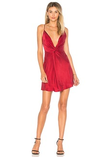 House of Harlow 1960 x REVOLVE Sharon Dress in Burgundy. - size M (also in XXS, XS,S,L)