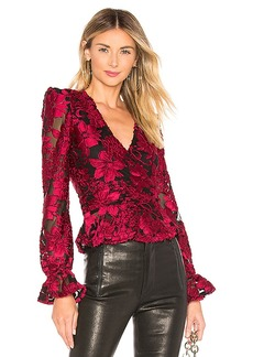 House of Harlow 1960 x REVOLVE Solana Blouse