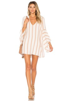House of Harlow 1960 X REVOLVE Talullah Dress in Beige. - size L (also in M,S,XS)