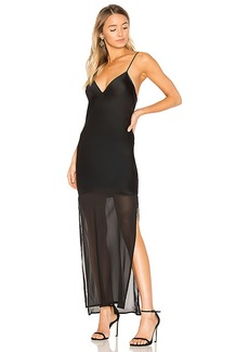 House of Harlow 1960 x REVOLVE Tracy Dress in Black. - size L (also in XS,S,M,XL)