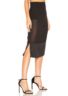 House of Harlow 1960 x REVOLVE Vitti Skirt in Black. - size L (also in M,S,XL, XS)