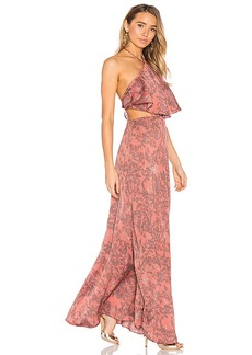 House of Harlow 1960 x REVOLVE Zoe Halter Dress in Pink. - size M (also in L,XL)