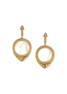 House of Harlow Luna Stone Statement Earrings