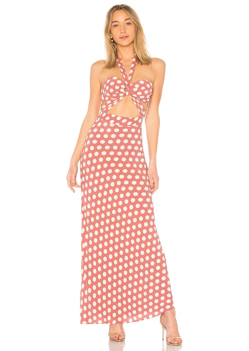 x REVOLVE Camila Dress in Mauve. - size XS (also in L,M,S,XL) House Of Harlow