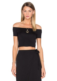 House of Harlow x REVOLVE Lola Off The Shoulder Crop