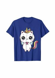 Huda Caticorn Meowgical Rainbow T-shirt Cat Kittycorn Unicorn Tee
