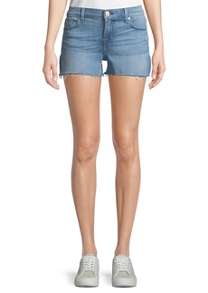 Hudson Jeans Amber Cut-Off Denim Shorts
