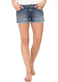 Hudson Jeans Amber Raw Hem Shorts in Dogwood