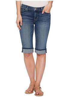 Hudson Jeans Amelia Cuffed Knee Shorts in Unfamed