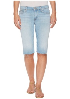 Hudson Jeans Amelia Cut Off Knee Shorts in Closer