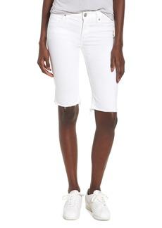 Hudson Jeans Amelia Cutoff Knee Shorts