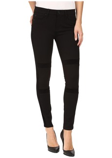 Hudson Jeans Amory Super Skinny Ponte in Black