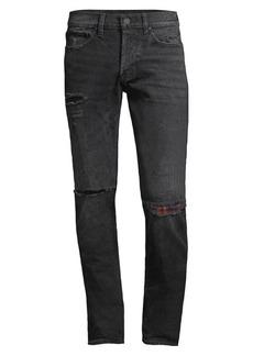 Hudson Jeans Axl Distress Skinny Jeans