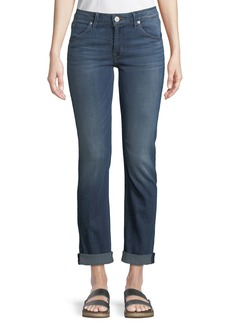 Hudson Jeans Bacara Cropped Straight-Leg Jeans