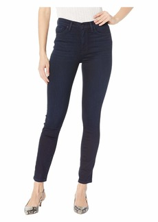 Hudson Jeans Barbara High-Rise Ankle High-Waisted Skinny Jeans in Idle