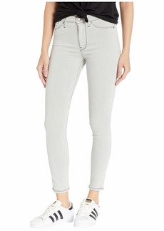 Hudson Jeans Barbara High-Rise Ankle Skinny Jeans in Sea Foam