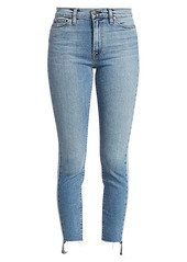 Hudson Jeans Barbara High-Rise Cropped Skinny Jeans