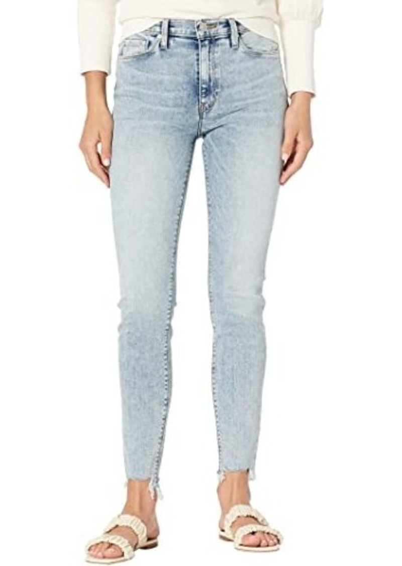 Hudson Jeans Barbara High-Rise Super Skinny Ankle in Club Paradise