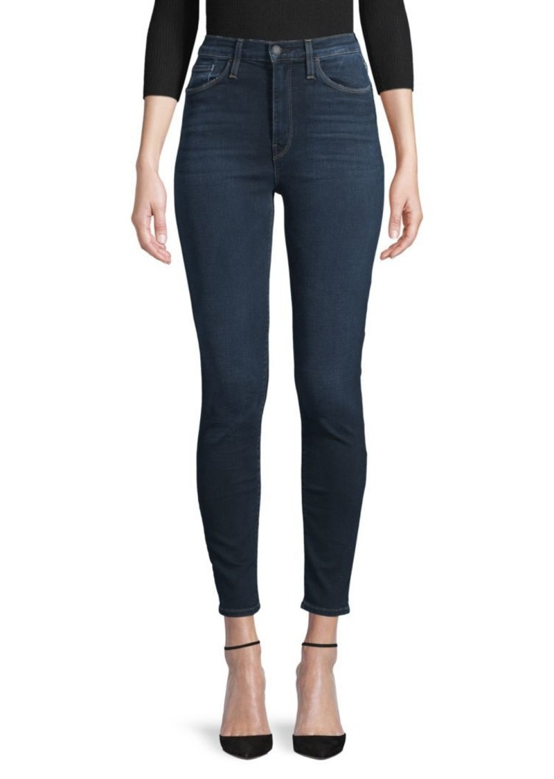 Hudson Jeans Barbara High-Rise Super Skinny Ankle Jeans