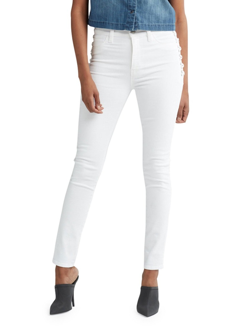 Hudson Jeans Barbara High-Rise Super Skinny Ankle Jeans