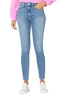 Hudson Jeans Barbara High-Rise Super Skinny in Brighton