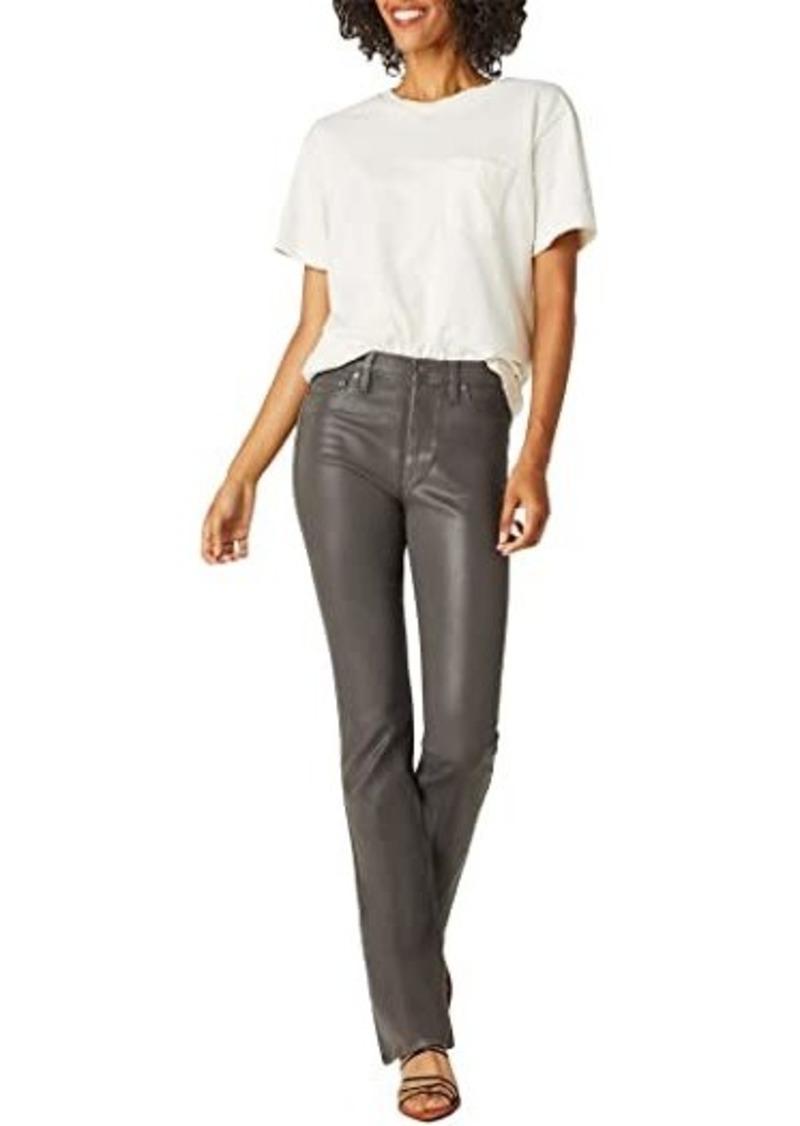 Hudson Jeans Barbara High-Waist Bootcut in High Shine Dark Slate